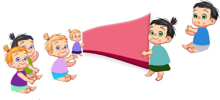 Gry i zabawy 3-6 rok życia - Kurtyna