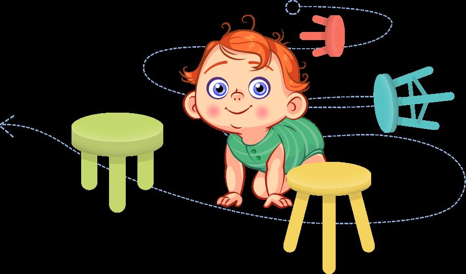 Gry i zabawy 3-6 rok życia - Tor przeszkód