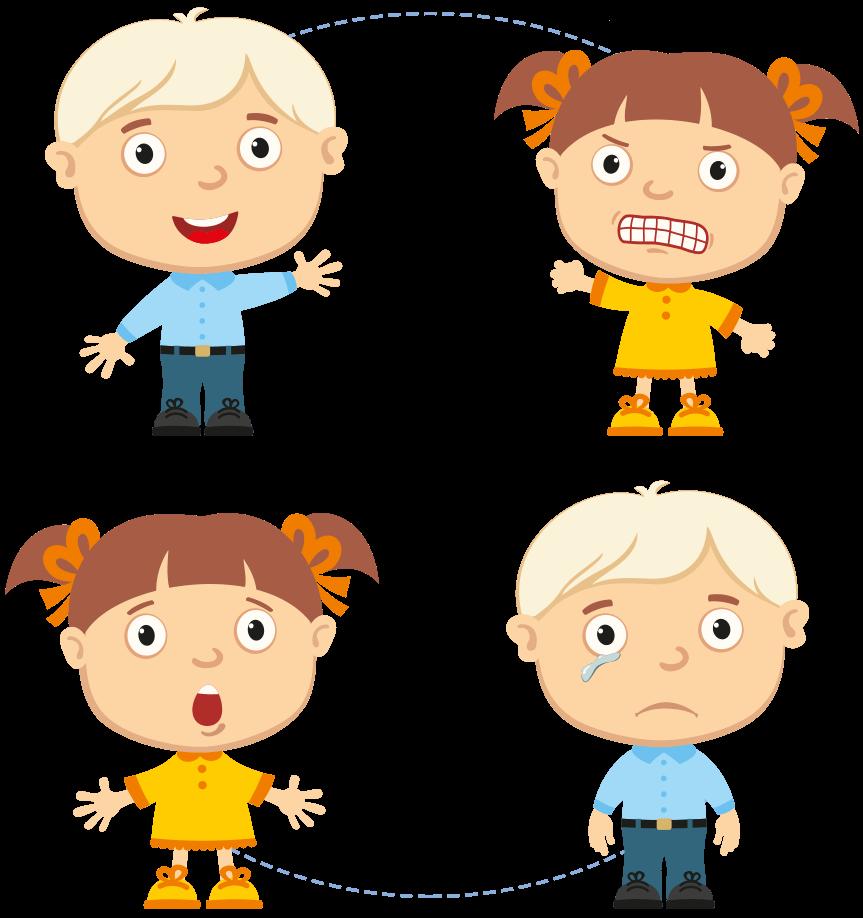 Gry i zabawy 6+ rok życia - Jaka to emocja
