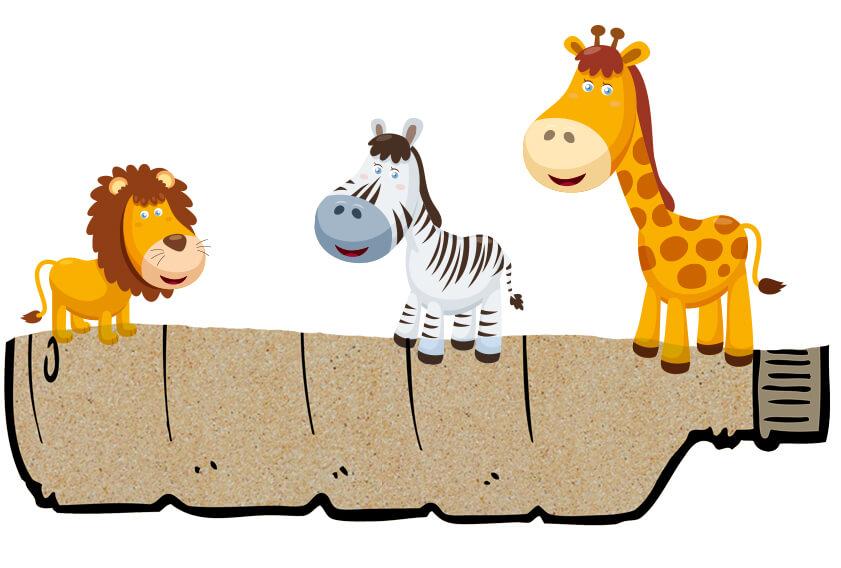 Gry i zabawy 6+ rok życia - Małe ZOO