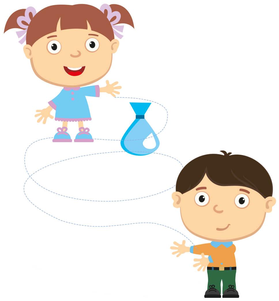 Gry i zabawy 6+ rok życia - Wodne baloniki