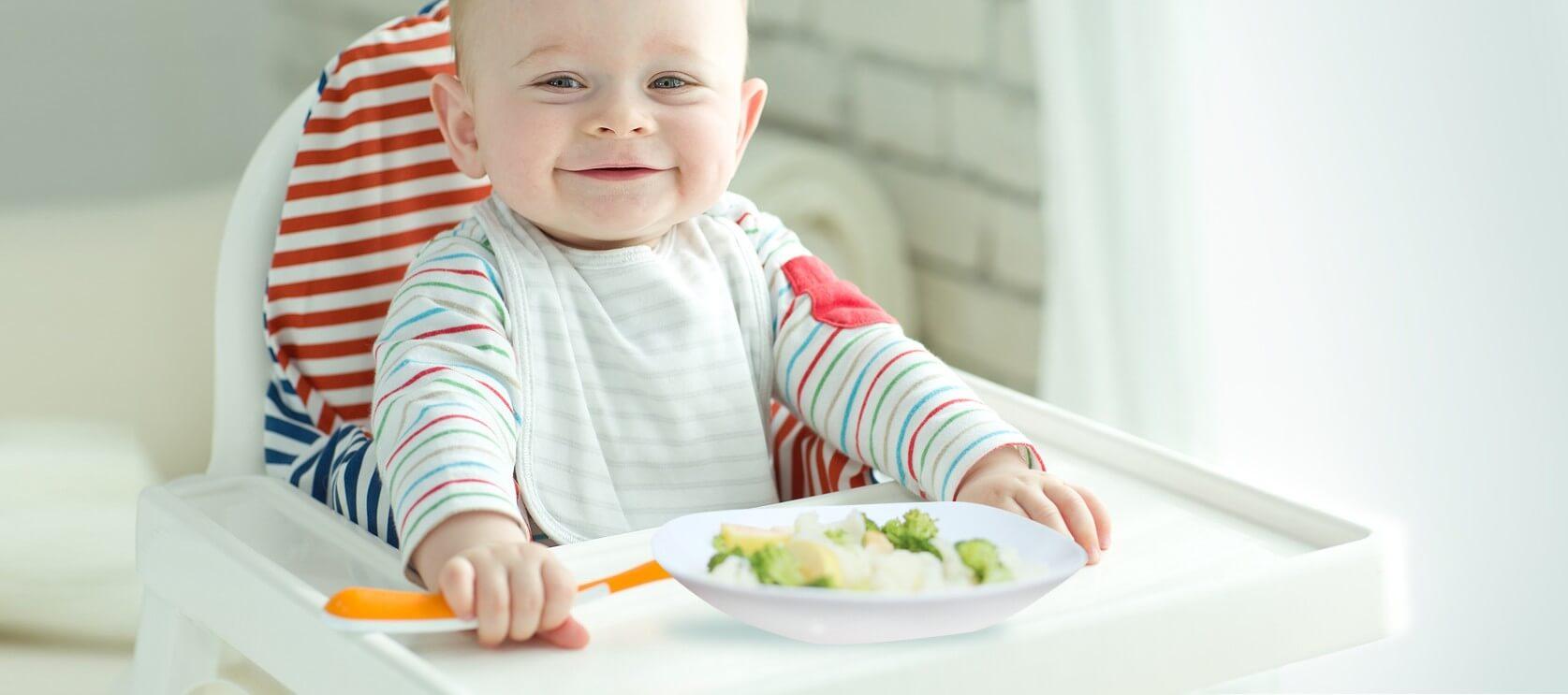 Rozszerzanie diety u niemowląt