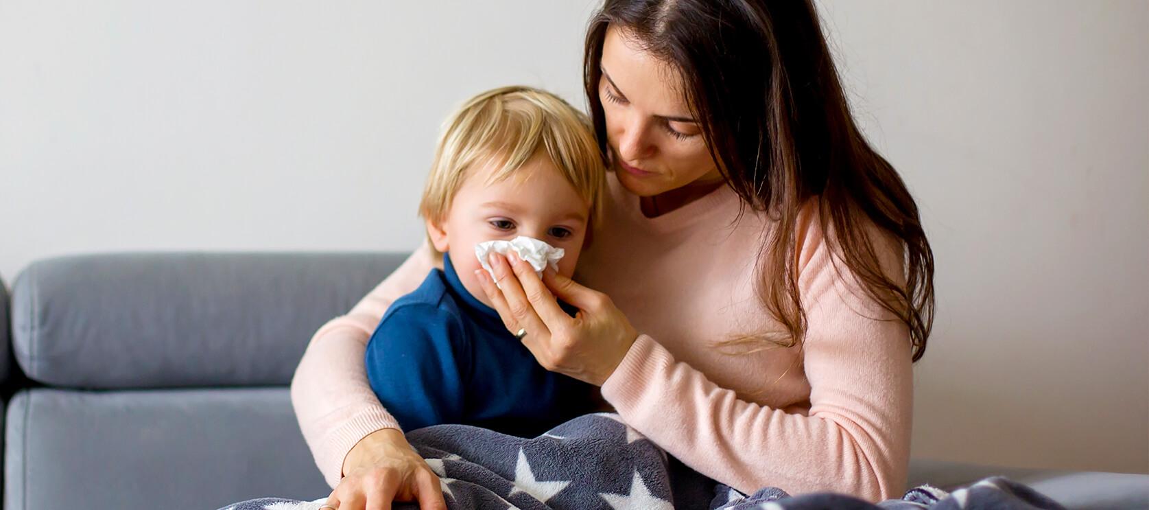 Objawy i leczenie przeziębienia u dzieci